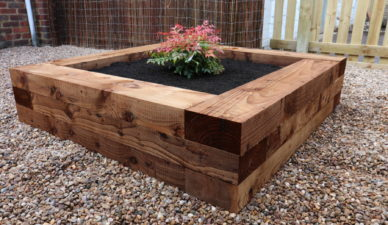 New Railway Sleepers